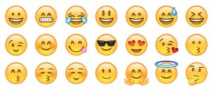 Whatsapp Emoticons on your iPhone